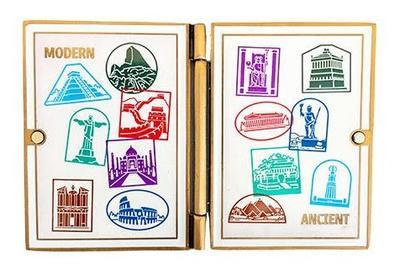 Wonders of the World Passport Geocoin and Trackable Tag Set - 2