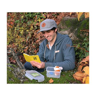 Geocaching Logo 5 Panel Camper Hat- Grey - 2