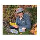 Geocaching Logo 5 Panel Camper Hat- Grey - 2/2
