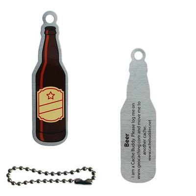 Beer Cache Buddy Travel Tag - 2