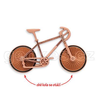 Cyklistický geocoin - antique copper - 2