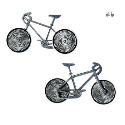 Cyklistický geocoin - antique silver - 2