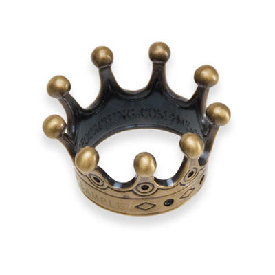 Countess' Crown Geocoin - Antique Gold - 2