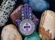 Hamsa Amulet Geocoin - Amethyst - 2/2