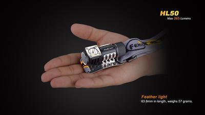 Čelovka Fenix HL50 - 2