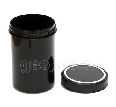 Černá geocache dóza 1 litr - 2