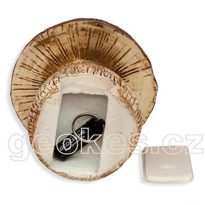 Geocache houba - komplet včetně microcache - 2