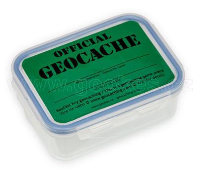 Samolepka Official Geocache - 2