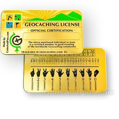 Geocaching Licence - 2