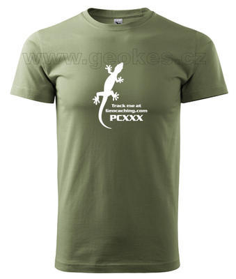 Gecko trackable t-shirt - 2