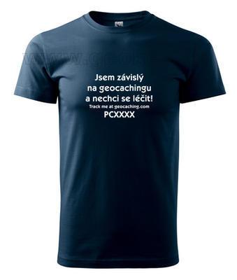 Trackable triko - Jsem závislý na geocachingu a nechci se léčit - 2