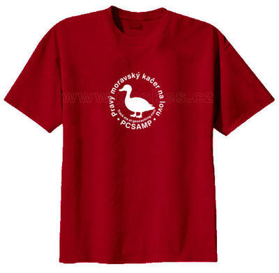 Trackable triko - Pravý moravský kačer na lovu - 2