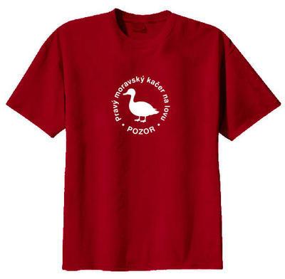 Triko - Pravý moravský kačer na lovu - 2