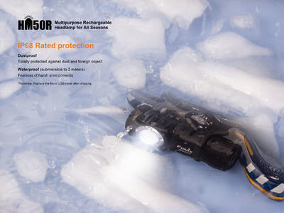 Nabíjecí čelovka Fenix HM50R - 2