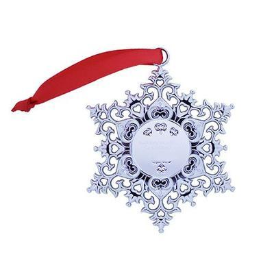 Snowflake Ornament Geocoin - Wreath - 2