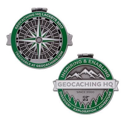 2017 Lackey Geocoin / Tag Set - 2