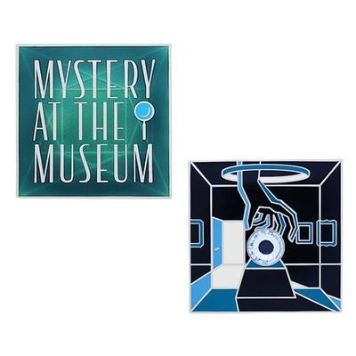 Mystery at the Museum Geocoin a Travel Tag - 2