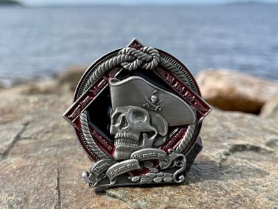 2021 Pirate Geocoin - Courage - 2