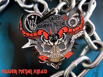 Heavy Metal Geocoin - 2