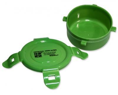Krabička kulatá zelená 120 ml - 2