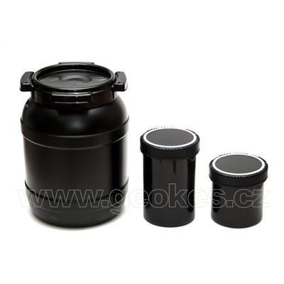 Černá geocache dóza 1 litr - 3