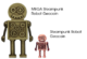 Steampunk Robot Geocoin - MEGA - 2/2