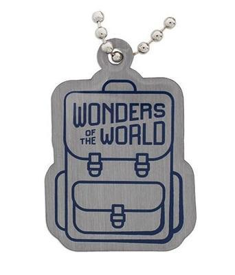 Wonders of the World Passport Geocoin and Trackable Tag Set - 3