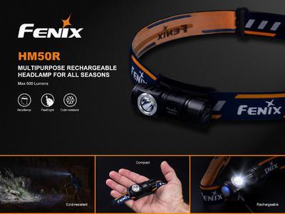 Nabíjecí čelovka Fenix HM50R - 4