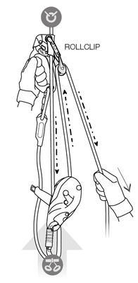 Karabina PETZL Rollclip - 4