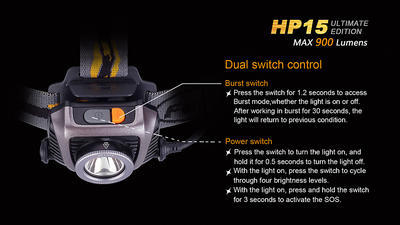 Čelovka Fenix HP15 Ultimate Edition - 5