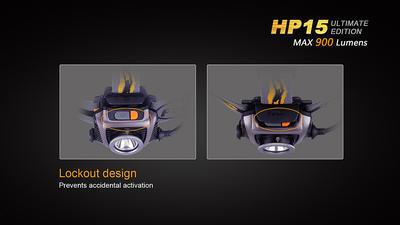 Čelovka Fenix HP15 Ultimate Edition - 6