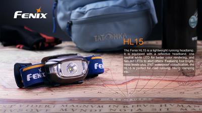 Čelovka Fenix HL15 - 7