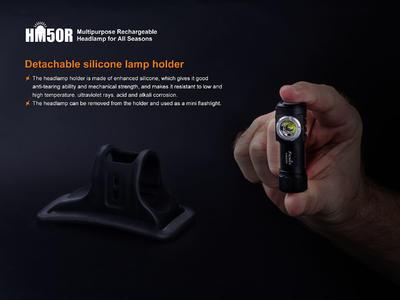 Nabíjecí čelovka Fenix HM50R - 7